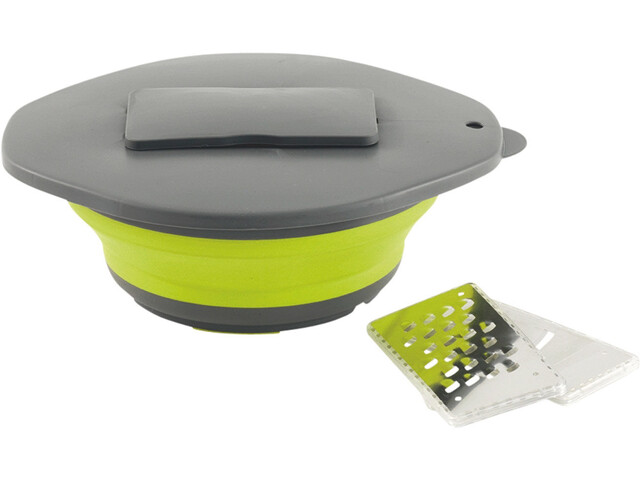 Outwell Collaps Bowl & Lid with Grater green